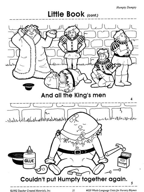 Humpty Dumpty Printables Learningenglish Esl Humpty Dumpty Coloring Page