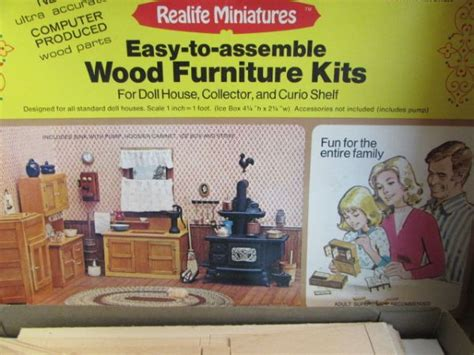 doll house furniture kits lot detail dolls miniature doll house furniture kits
