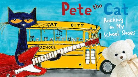 pete the cat rocking in my school shoes by eric litwin and