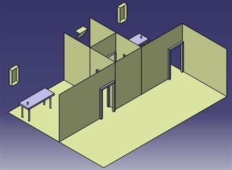 aiir room airborne infection isolation room layout simscale