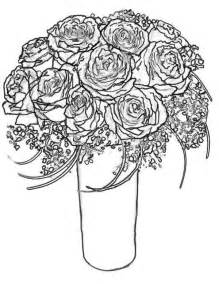 Bouquet Of Roses Coloring Pages best photos of bouquet of roses coloring pages bouquet coloring page drawing roses and