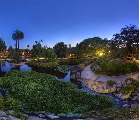 Keck Park Memorial Gardens by Evening At S Garden 360 Degree Panorama Keck