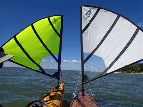 kayak sailboat falcon kayak sails