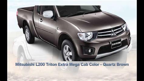 mitsubishi truck 2015 all new 2014 mitsubishi l200 triton pickup truck 2015