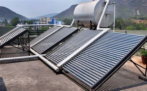 diy solar water heater for cing bis norm to be a must for solar water heaters the hindu