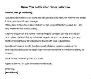 thank you letter after interview on the phone thank you letter after interview 10 free download for pics photos thank you letter after phone interview jpg