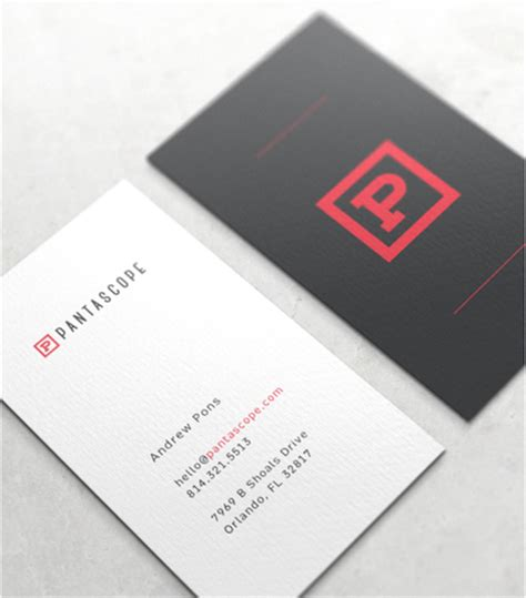 best looking business card template 50 of the best business card designs design