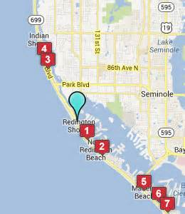 map of redington florida hotels motels near redington shores fl see all discounts