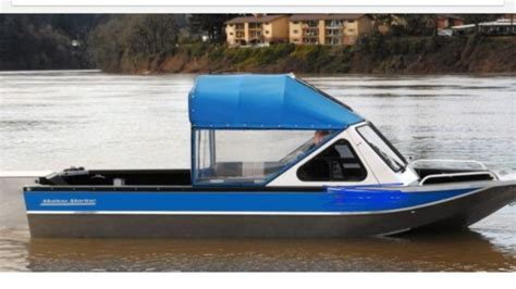 aluminum inboard jet boat aluminum inboard fishing jet boat shallow water river sled