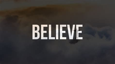 believe one 12 one word motivational posters you need today