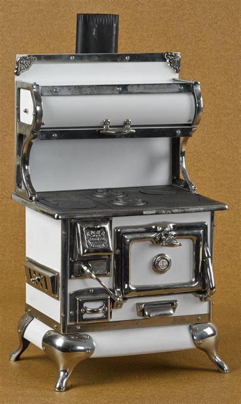 toy range reproduction karr range co cast iron nickel and tin toy