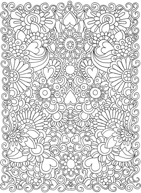 Welcome To Dover Publications Doodle Coloring Pages 2