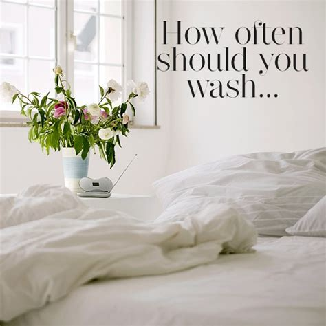 how often should you wash your bed sheets how often should you wash your sheets cleaning your