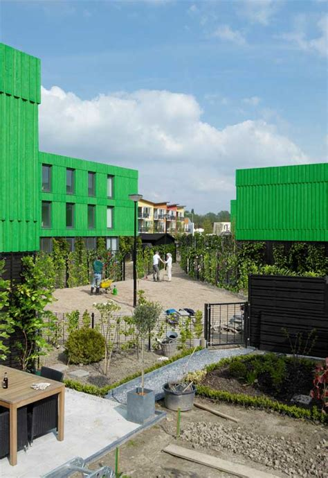 Co Housing by Co Housing Hoogvliet Rotterdam Residential Building E