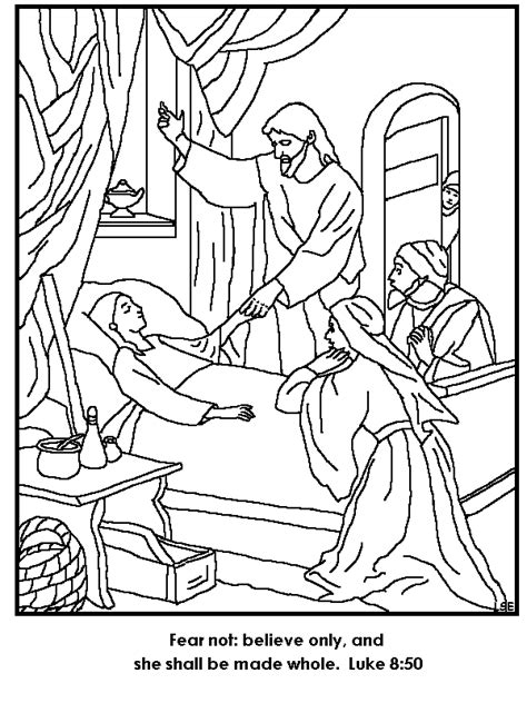 J For Jesus Coloring Page by Popular Images Of Jairus