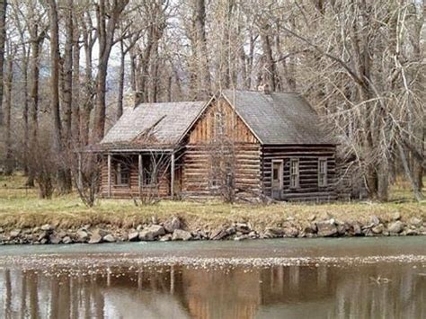 Cabins On The Water by Cabin By The Water Log Cabins
