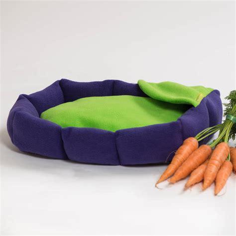 rabbit beds fleece cushion rabbit bed by willow whippet notonthehighstreet com