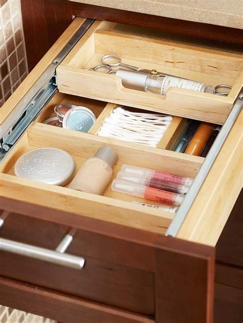 Makeup Drawer Inserts by Store More In Your Bath Bathroom Drawers Lipsticks And