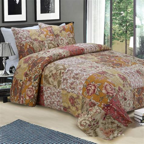 Vintage Patchwork Bedding - vintage patchwork bedspread reviews shopping