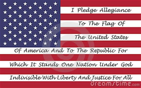 american flag   pledge  allegiance royalty  stock images image