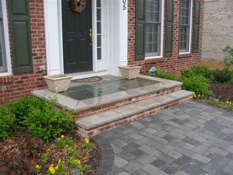 front door stoop designs home decorating excellence