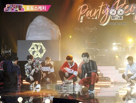exo party people kedatangan ratu ost dan exo jyp s party people catat