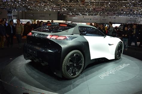 is peugeot a car peugeot fractal concept car at the geneva motorshow