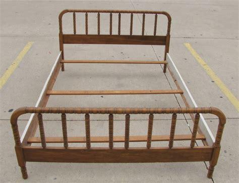 jenny lynn bed vintage 1940 s solid oak full size jenny lynn bed wood