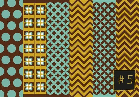 mid century patterns free mid century pattern 5 download free vector art