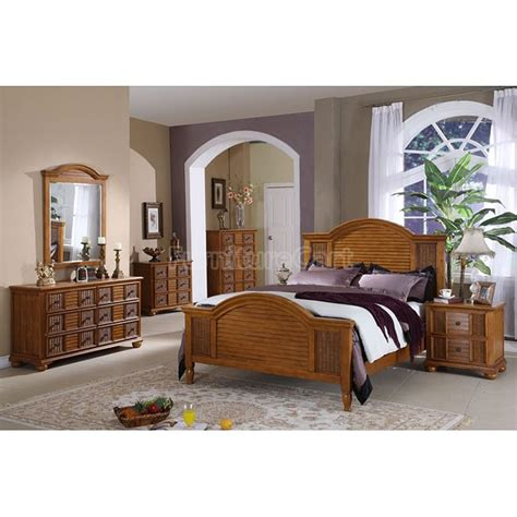 nautical breeze panel bedroom set brown pelican reef
