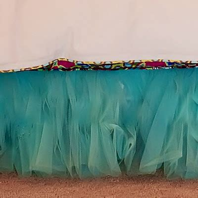 turquoise bed skirt anniston tulle bed skirt in aqua blue everything turquoise