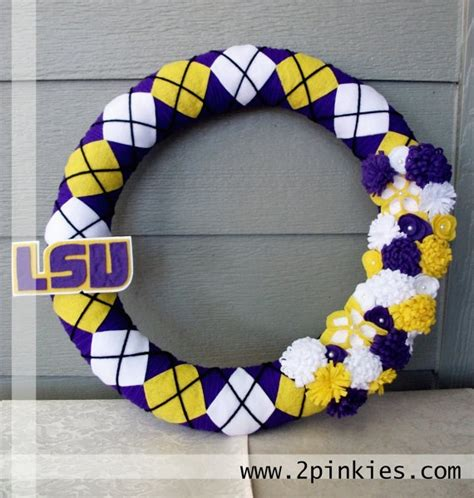 lsu school colors 136 best images about diy wreaths on