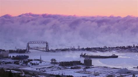 duluth sea smoke duluth sea steam sea smoke youtube
