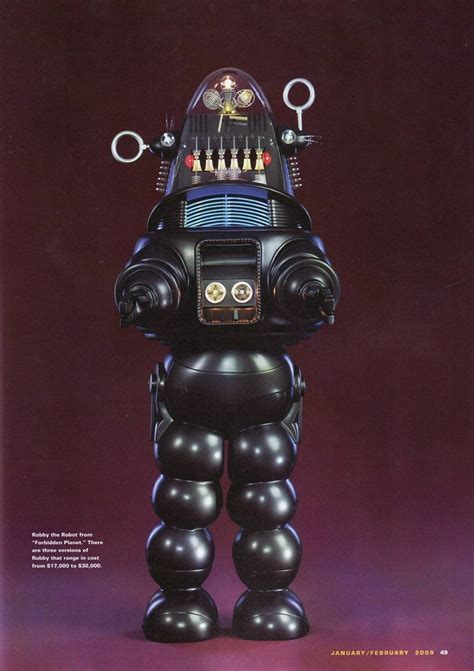 the genuine 7 foot robby the robot hammacher schlemmer 230 best images about forbidden planet on pinterest