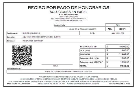 como calcular recibo de honorarios formatos de recibos de nomina gratis en excel