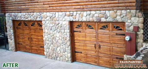 faux painted garage doors faux wood painted garage doors 187 ideas home design