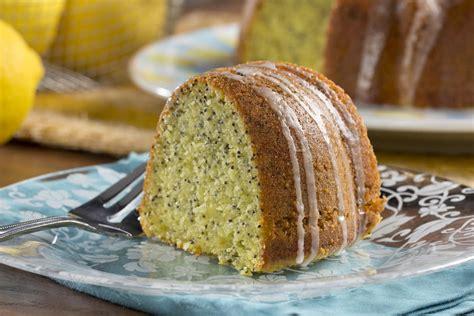 lemon poppy seed bundt cake mrfoodcom