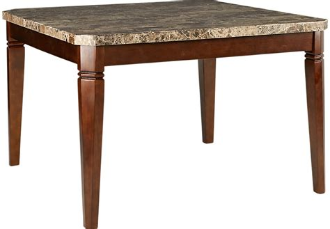 edenton merlot square counter height dining table dining