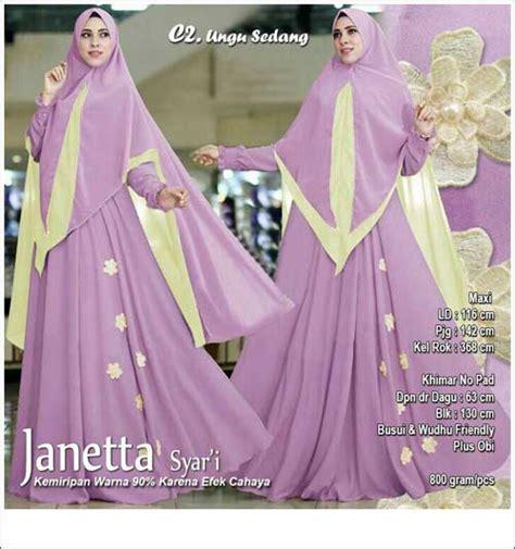 Baju Muslim Keluarga Warna Ungu supplier baju pesta muslim bahan ceruti premium