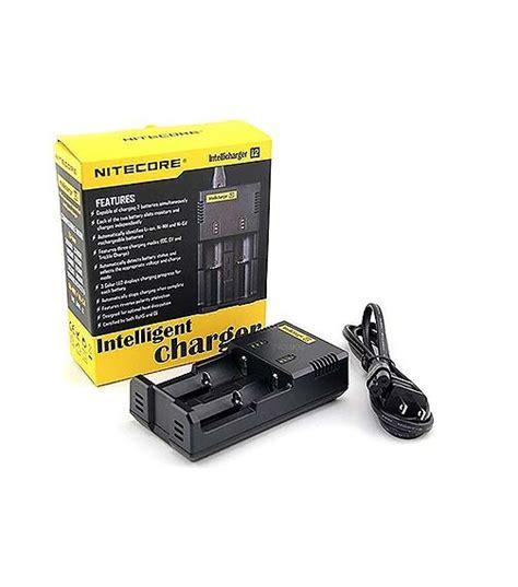 Charger Nitecore I2 By Techno Vape nitecore intellicharger i2 battery charger discount vape pen