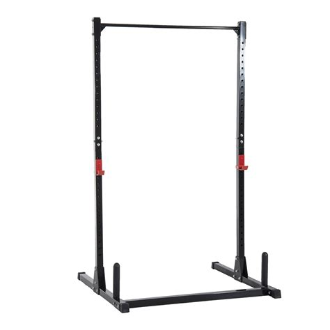 soozier adjustable power squat rack home exercise barbell