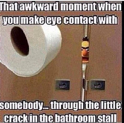 bathroom stall awkward awkward meme pictures quotes memes jokes