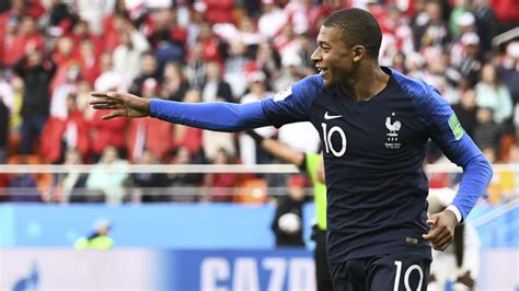 kylian mbappe diet mbappe makes history as france battle into world cup last