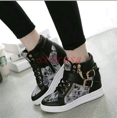 New Sepatu Kets Cewek Wanita Putih Korea Sneaker Sport Running jual sepatu boots korea style blossom sepatu wanita kets