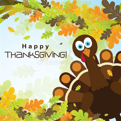 thanksgiving card template free illustrator template greeting card with a happy thanksgiving turkey