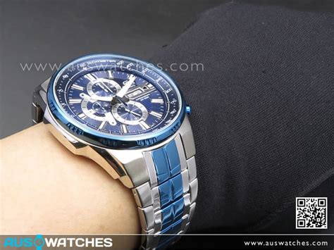 Casio Edifice Efr 556 Silver Blue buy casio edifice chronograph blue silver mens efr 549bb 2av efr549bb buy watches
