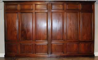 Beadboard Wainscoting Panels - library panels late 19th c at 1stdibs