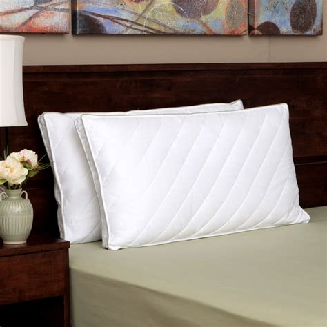 pillows for king size bed eddie bauer quilted king size hypoallergenic down