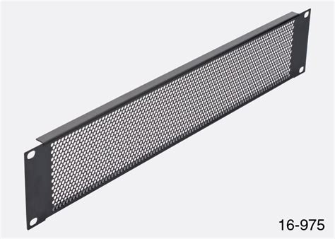 Rack Ventilation rackvent rack ventilation panel 1u steel perforated