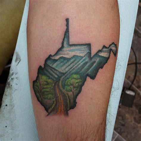 virginia tattoo best 25 west virginia ideas on